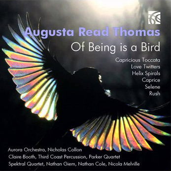 Cover art for Of Being Bird